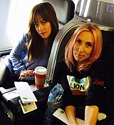 Dakota Johnson With Sam Taylor Johnson
