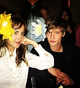 Dakota Johnson With Matthew Hitt