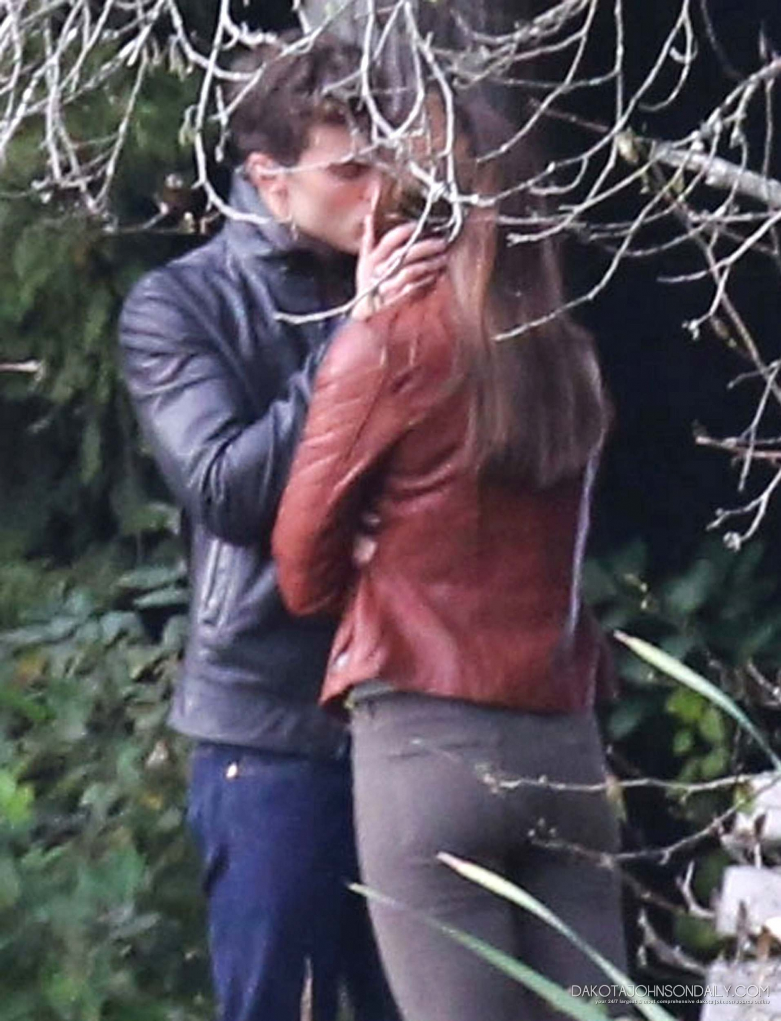 Dakota Johnson and Jamie Dornan Shared Kiss On The Set of Fifty Shades of Grey
