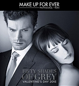 Fifty Shades of Grey Make Up Forever Posters