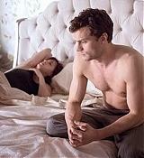 Dakota Johnson in new Fifty Shades of Grey Stills