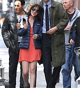 Dakota Johnson Filming 'How To Be Single' - April 23