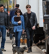 Dakota Johnson Filming  How To Be Single on April 27, 2015