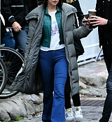 Dakota Johnson and Matthew Hitt Film How To Be Single - June 1
