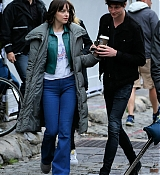 Dakota Johnson and Matthew Hitt Film How To Be Single - June 1