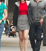 Dakota Johnson Films How To Be Single Set Photos - June 17