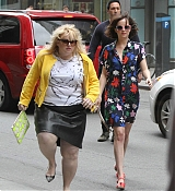 Dakota Johnson and Rebel Wilson Filming How To Be Single