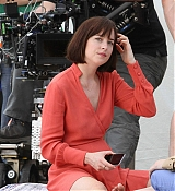 Dakota Johnson Filming 'How To Be Single' on May 28, 2015