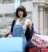 Dakota Johnson Filming How To Be Single in NYC - May 5