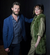 Dakota Johnson and Jamie Dornan for USA Today Photoshoots