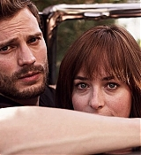 Dakota Johnson and Jamie Dornan for Fifty Shades Promo