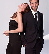 Dakota Johnson and Jamie Dornan for World Screen Magazine
