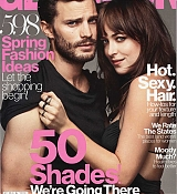 Jamie Dornan and Dakota Johnson for Glamour - March Scans