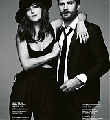 Dakota and Jamie for Glamour UK March Scans