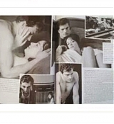 Dakota Johnson and Jamie Dornan for W March Scans