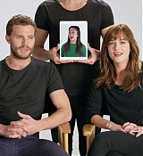 Dakota Johnson and Jamie DOrnan for Glamour Interview